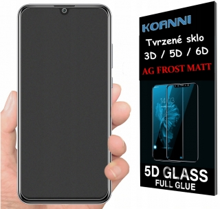 Apple Iphone X / XS, ochranné sklo AG FROST MATT 5D Full Glue na celý displej