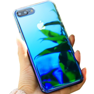 IPHONE 6 / 6s __ kryt obal AURORA BLUE RAY