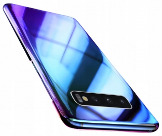 Samsung Galaxy S10+ Plus, kryt obal AURORA BLUE RAY
