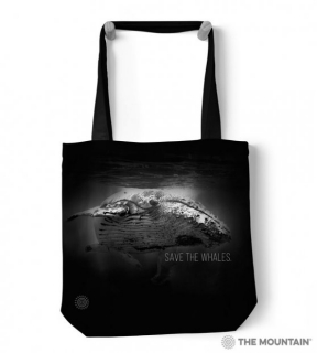 Save The Whales Protect - Taška - velryba - The Mountain