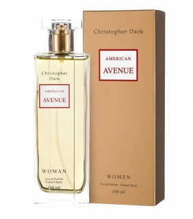 American Avenue for woman, parfém100ml Christopher Dark
