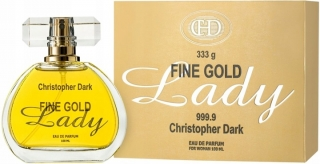 Fine Gold Lady for woman, parfém 100ml Christopher Dark