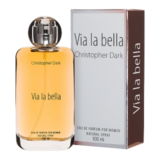 Via la bella for woman, parfém 100ml Christopher Dark