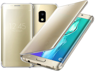 Samsung Galaxy J3 2017, kryt obal inteligentni CLEAR VIEW
