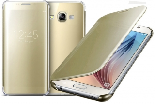 Samsung Galaxy J5 2015, kryt obal inteligentni CLEAR VIEW