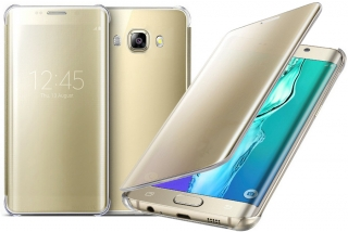 Samsung Galaxy J7 2016, kryt obal inteligentni CLEAR VIEW