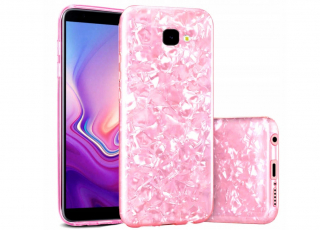 Samsung Galaxy J4+ Plus 2018, kryt pouzdro EFEKT MOTHER OF PEARL